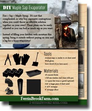 Free Maple Syrup Evaporator Plans