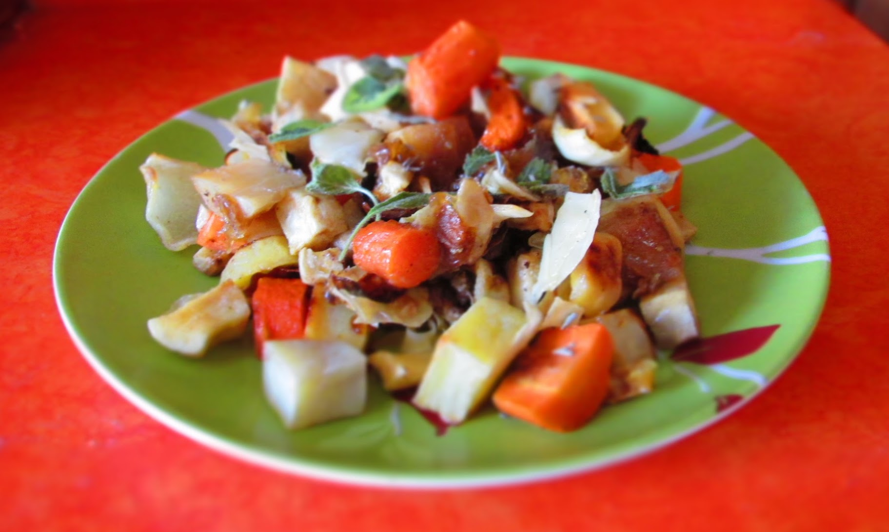 Roasted Root Vegetable Recipe