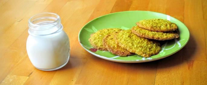 gluten free dandelion flower cookie recipe