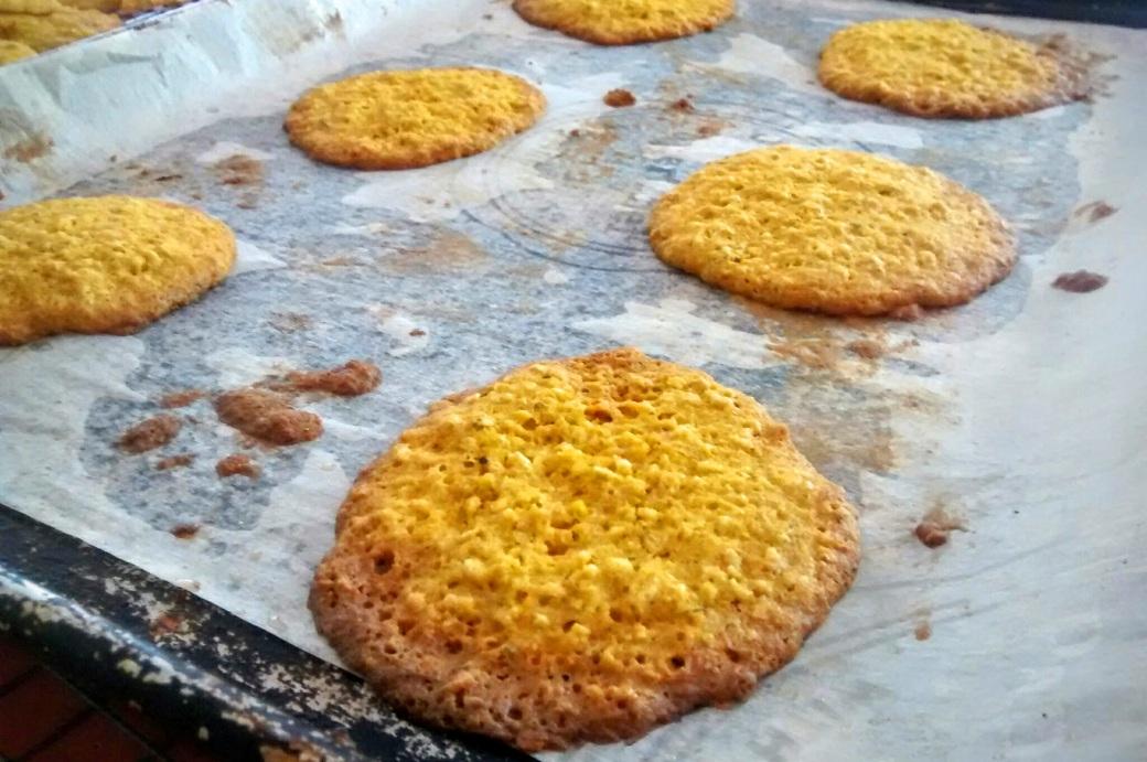 dandelion cookies