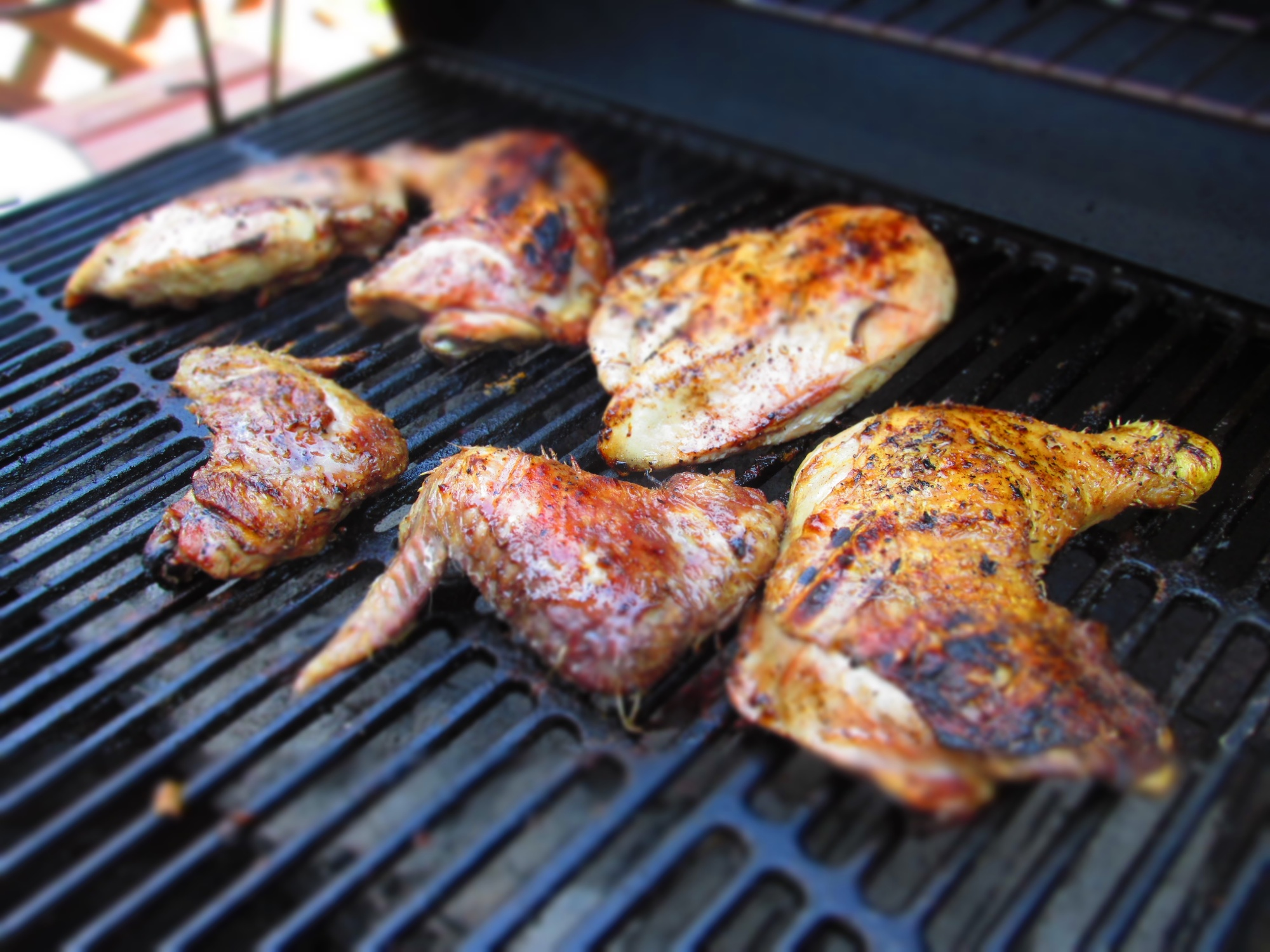 Grilled Organic Pastured Chicken