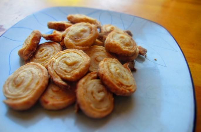plain swirl pie cookies