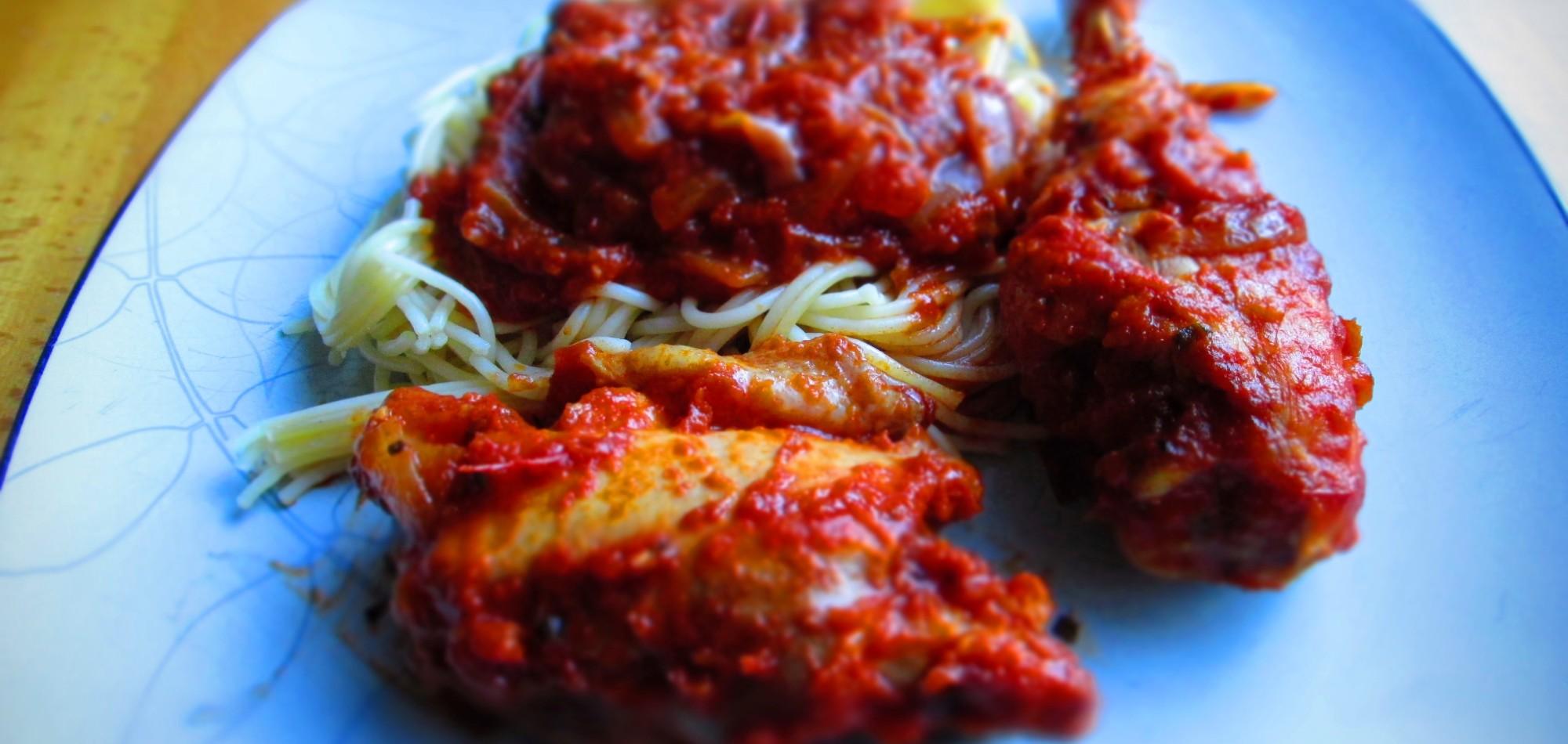 Chicken Tomato Sauce Recipe