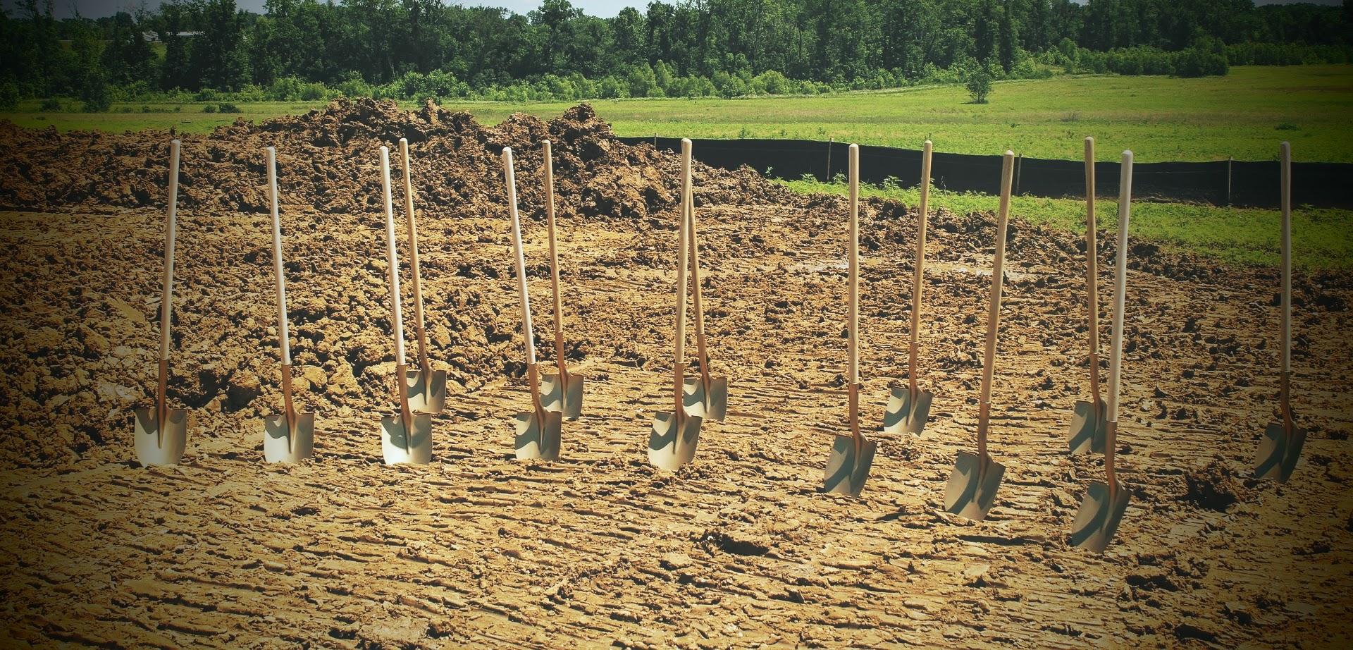 shovels of peace