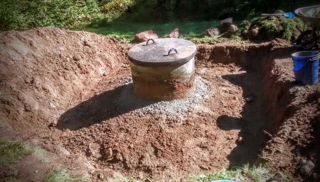 retrofitting dug well