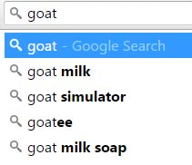 goatsearch