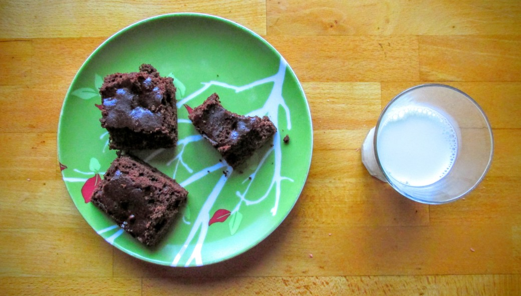 winter squash whole wheat or gluten free brownies