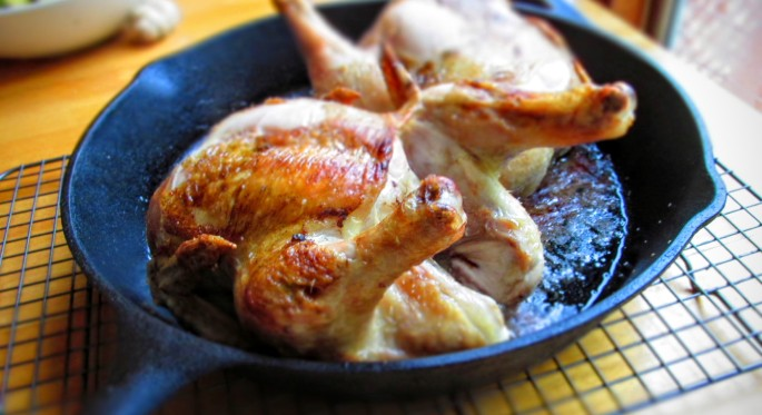 pasture raised organic fed cornish game hens roasted to perfection for banner