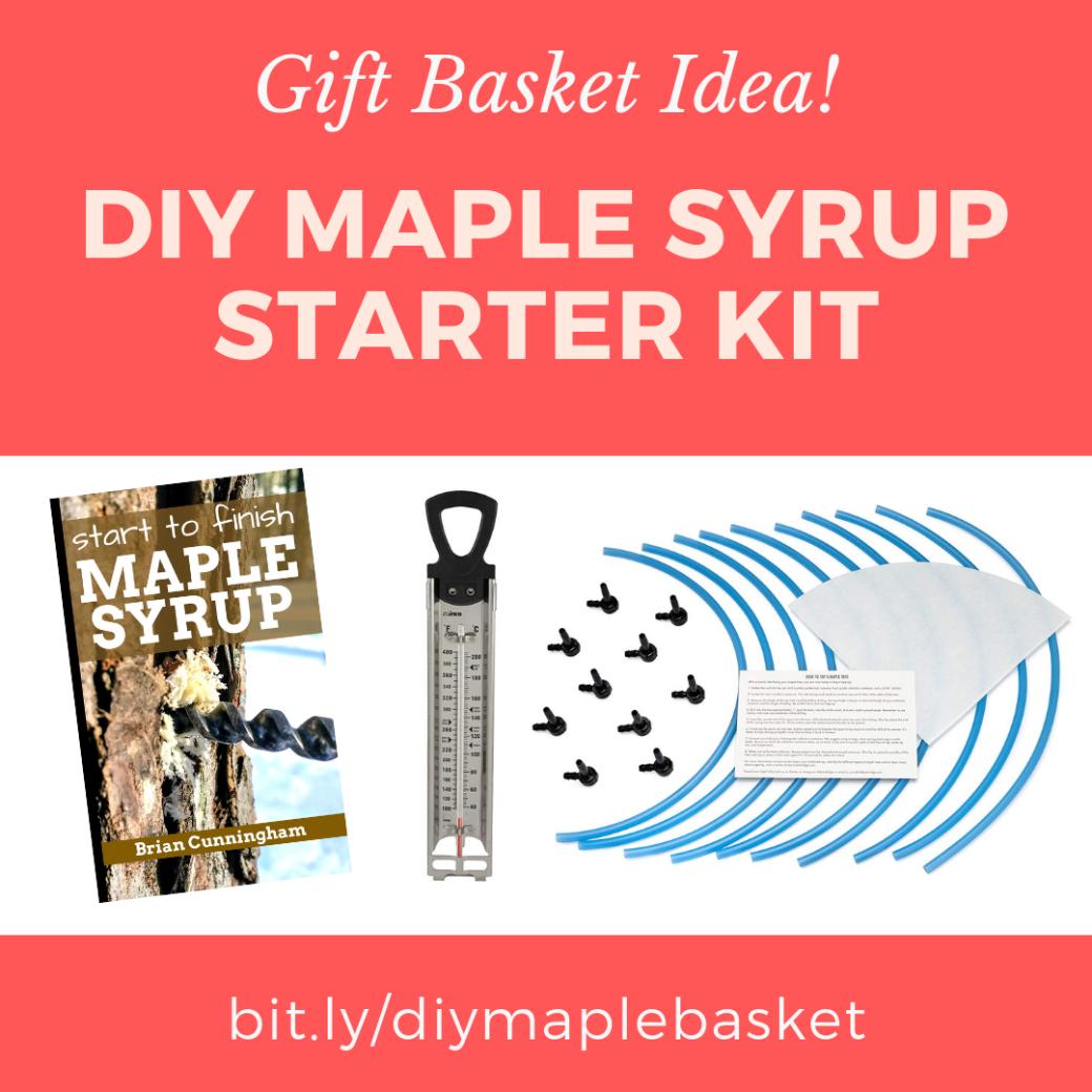 DIY Maple Syrup Starter Kit